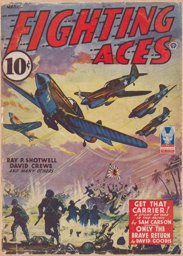 Fighting Aces March 1943