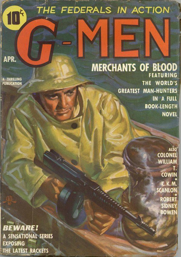 G-Men Detective April 1937