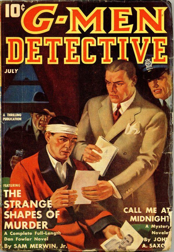 G-Men Detective July 1941