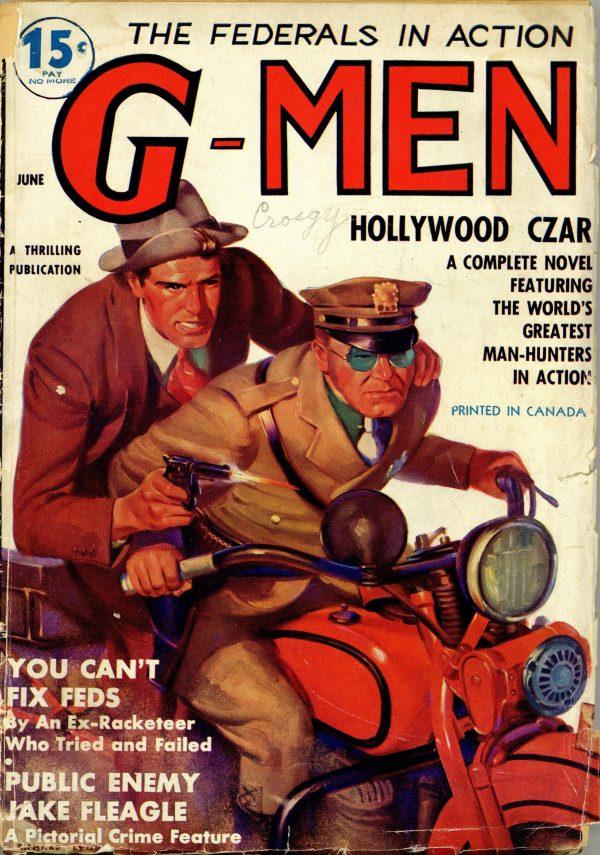 G-Men Detective June 1936