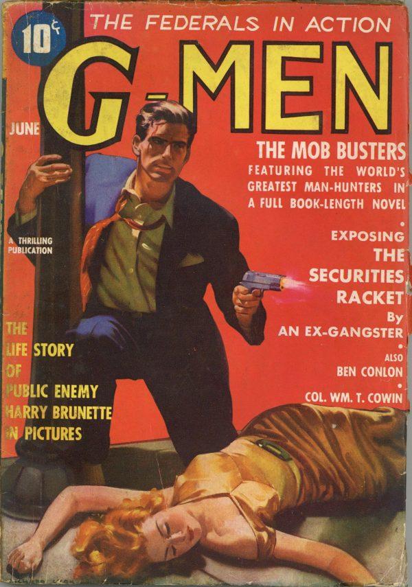G-Men Detective June 1937