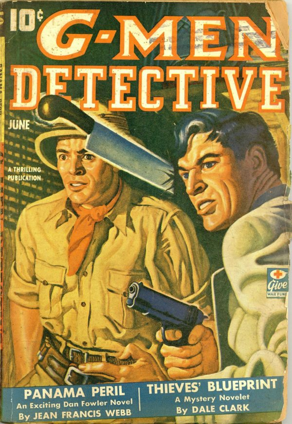 G-Men Detective Pulp Jun 1943