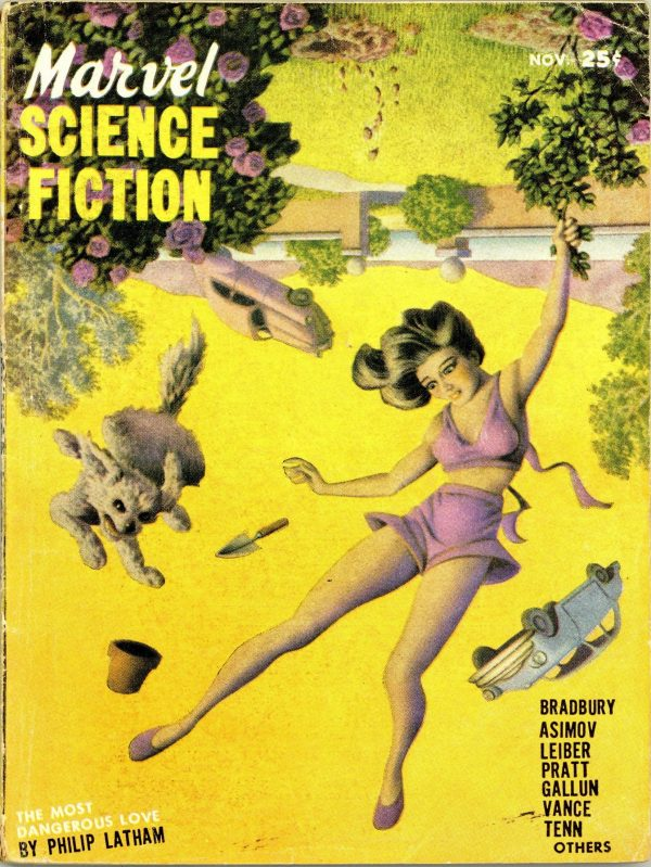 Marvel Science Fiction November 1951