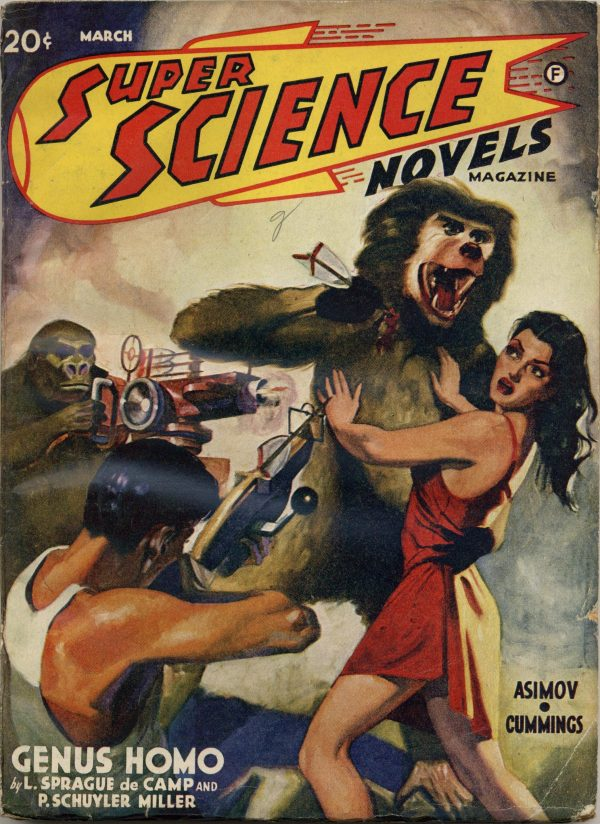 Super Science Novels Magazine, March 1941