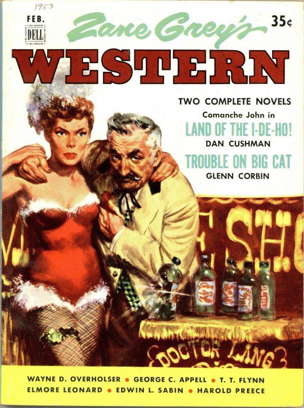 Zane Grey's Western February 1953