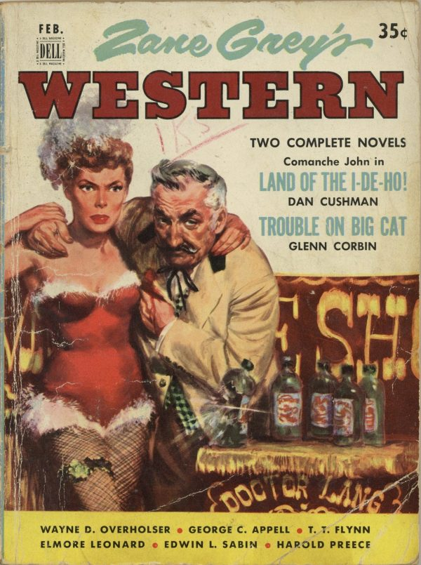Zane Grey's Western Magazine February 1953