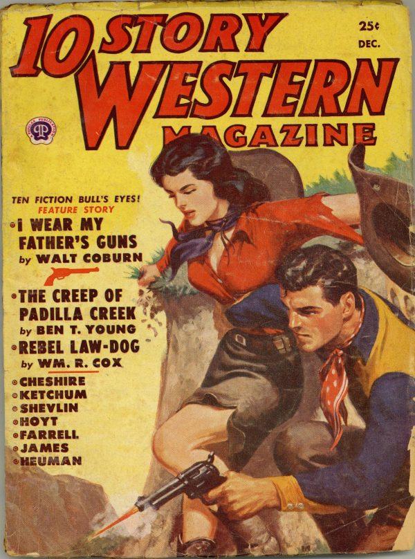10 Story Western Magazine December 1951