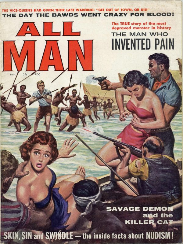 All Man Magazine January 1960