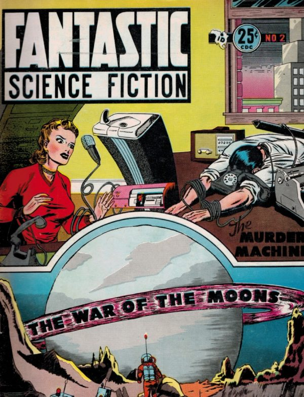 Fantastic Science Fiction, December 1952