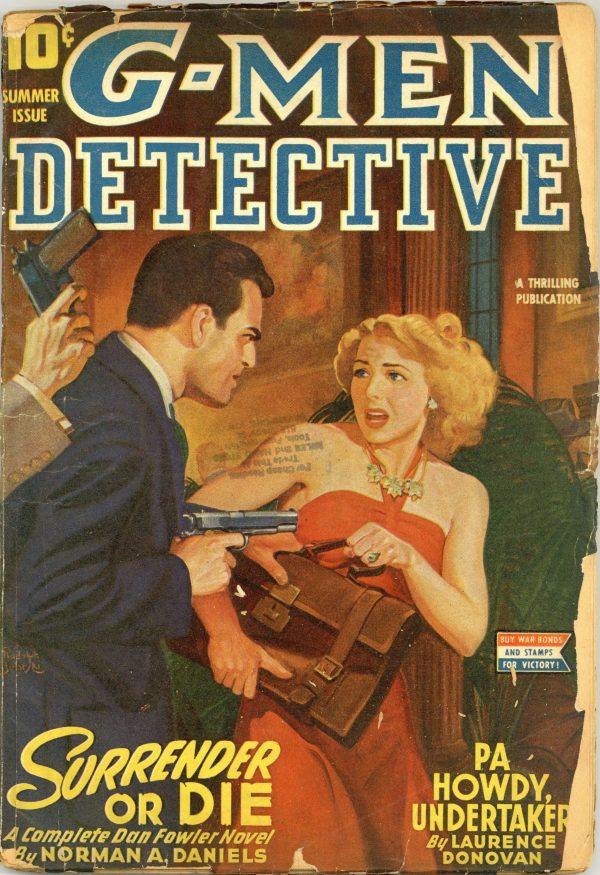 G-Men Detective June 1944