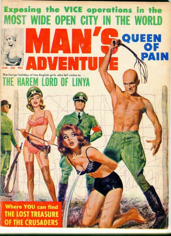 Man's Adventure March 1965