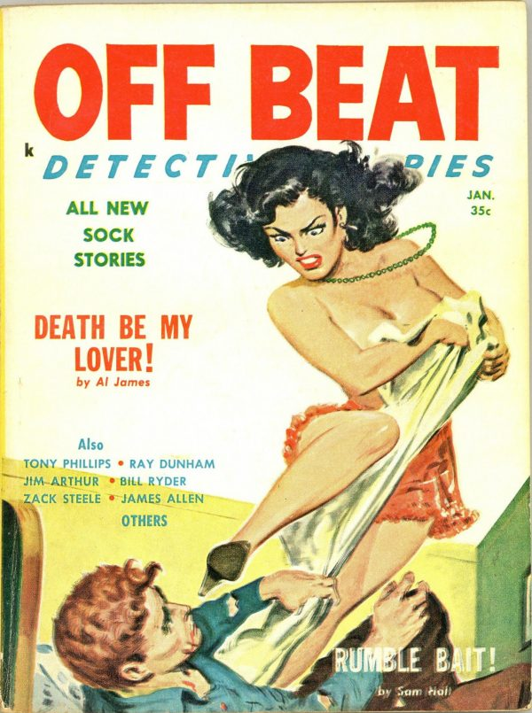 Off Beat Detective Stories January 1959