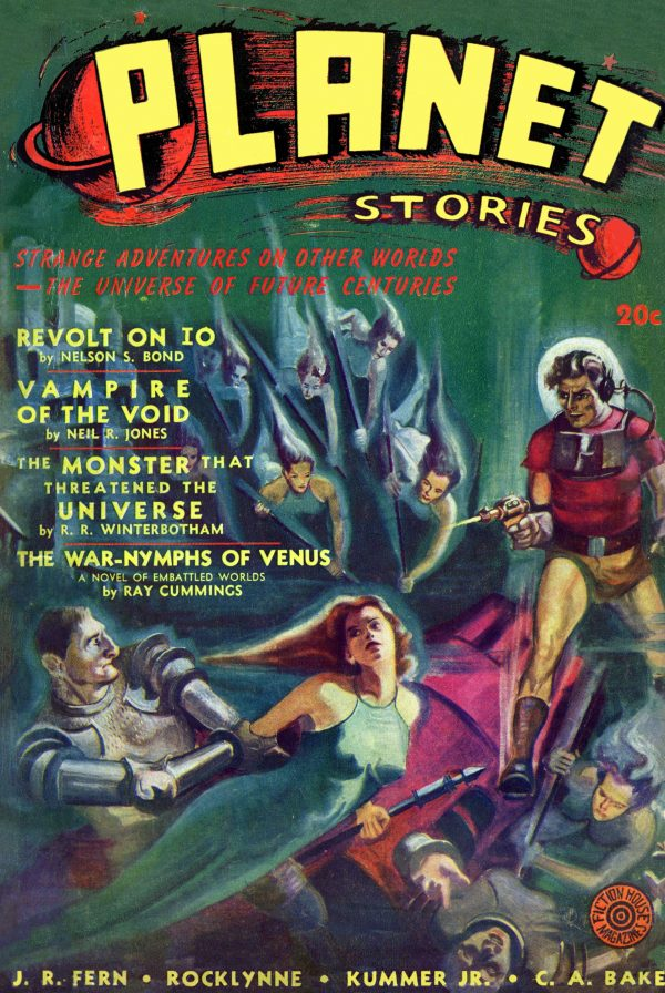 Planet Stories 1941 Spring