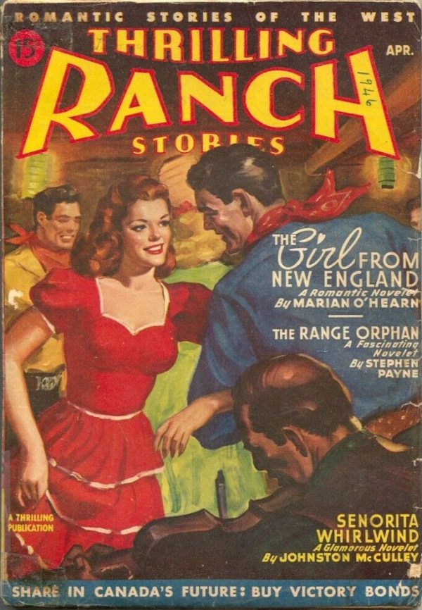 Thrilling Ranch Stories April 1946 Canadian variant