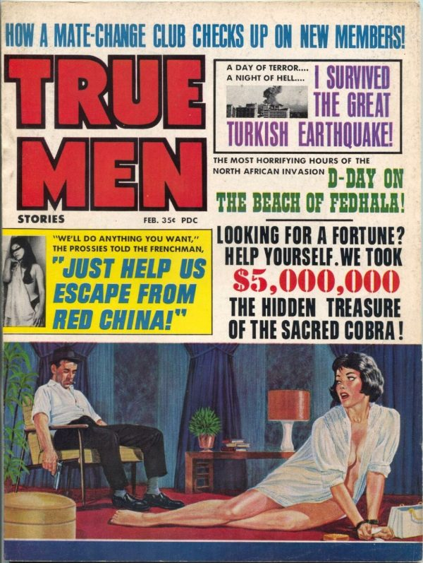 True Men Stories February 1967