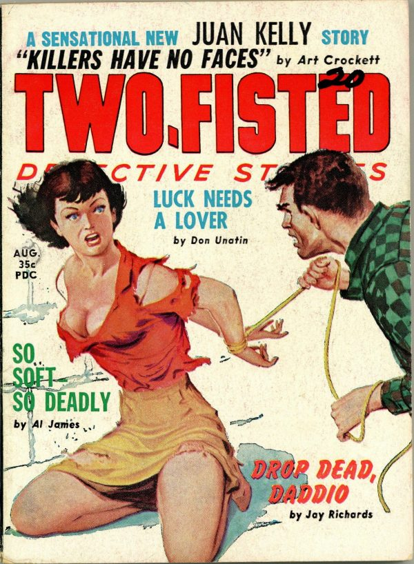 Two-Fisted Detective Stories August 1960