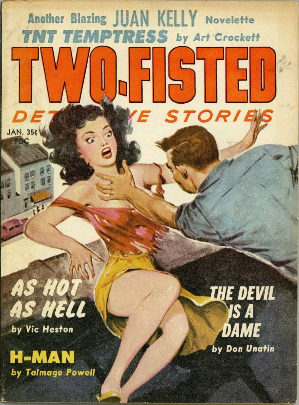 Two-Fisted Detective Stories December 1960