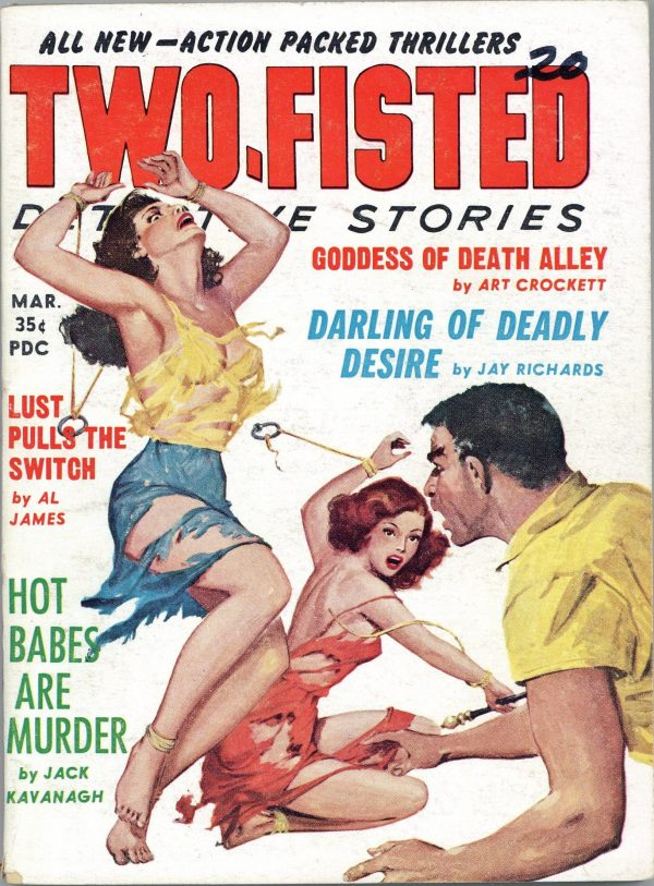 Two-Fisted Detective Stories March 1960