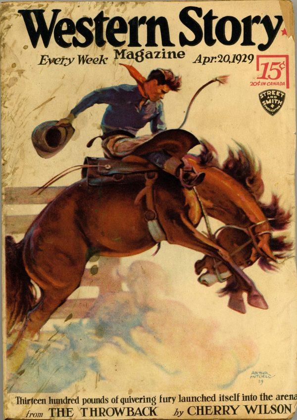 Western Story Magazine April 20 1929