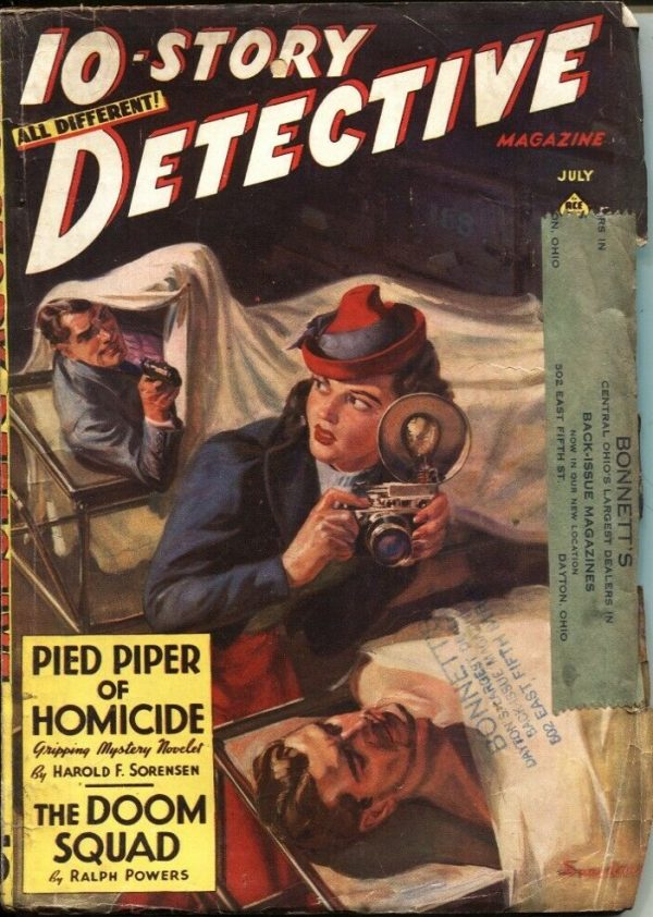 10-Story Detective July 1940