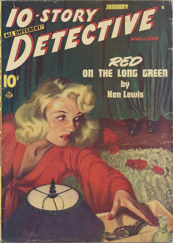 10-Story Detective Magazine January 1947