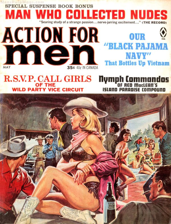 ACTION FOR MEN, May 1966