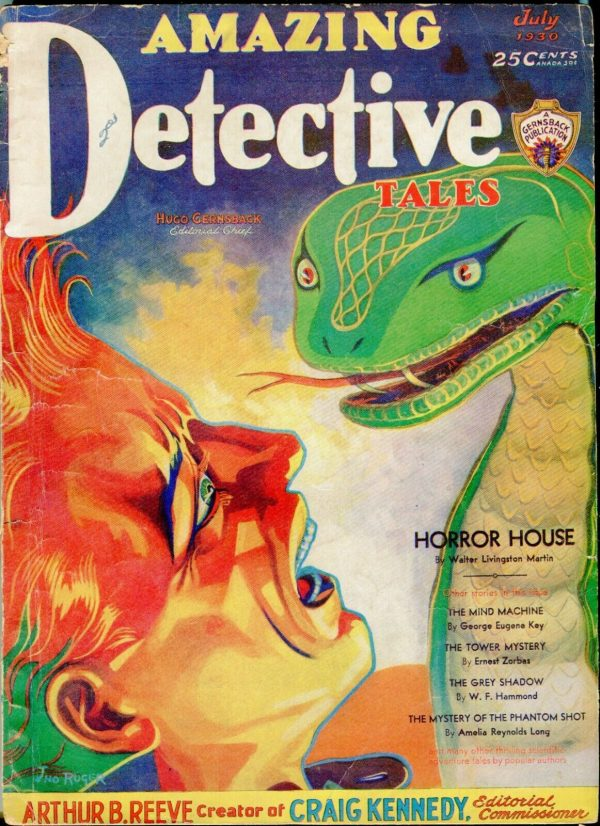 Amazing Detective Tales July 1930