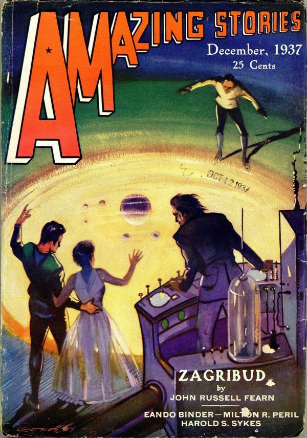 Amazing Stories December 1937
