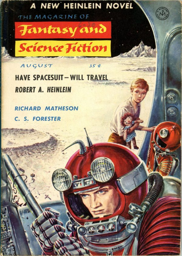 Fantasy and Science Fiction August 1958