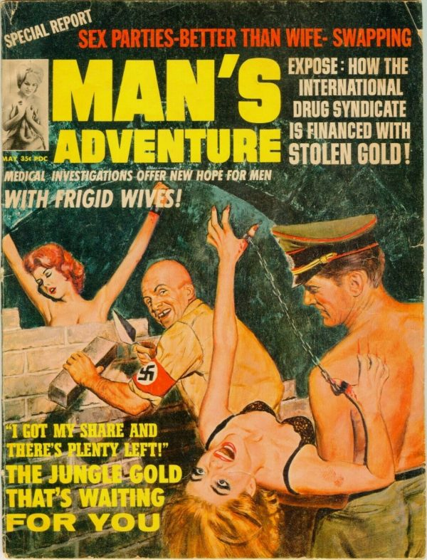 Man's Adventures May 1965