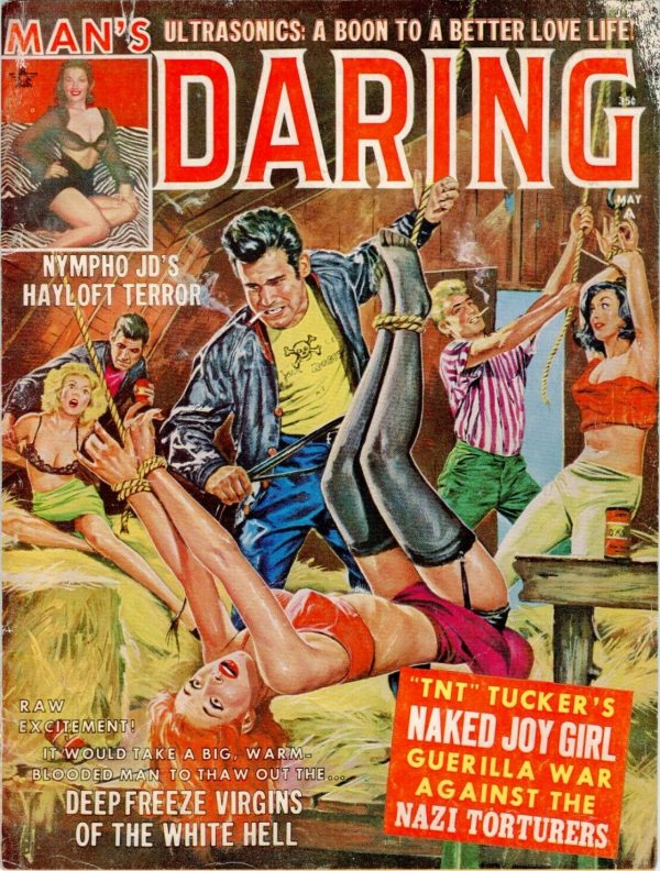 Man's DARING May 1963