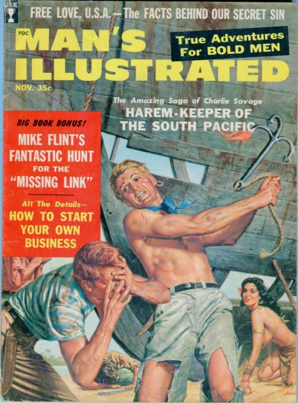 Man's Illustrated November 1958