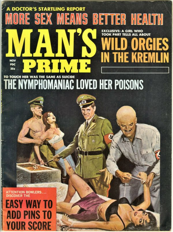 Man's Prime Adventure Magazine November 1965