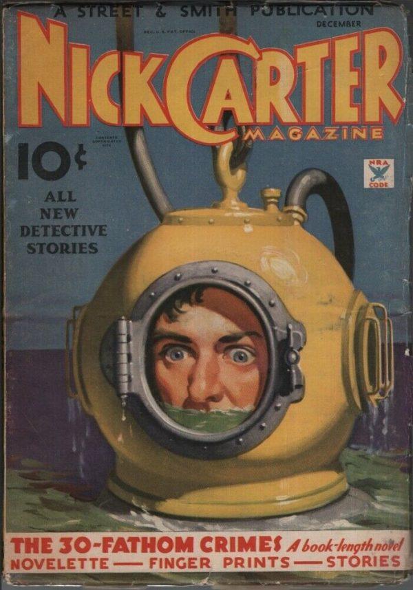 Nick Carter Magazine 1934 December