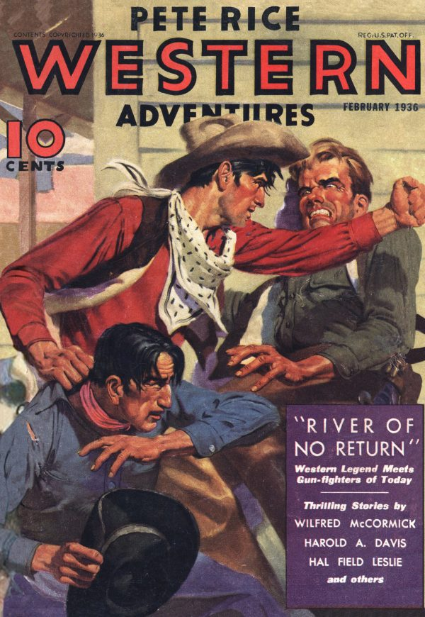 Pete Rice Western Adventures February 1936