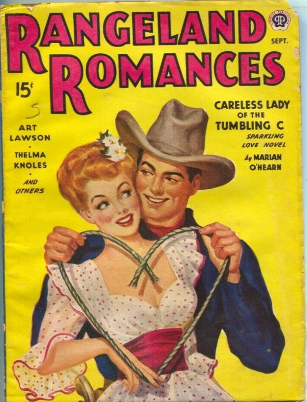 Rangeland Romances September 1944