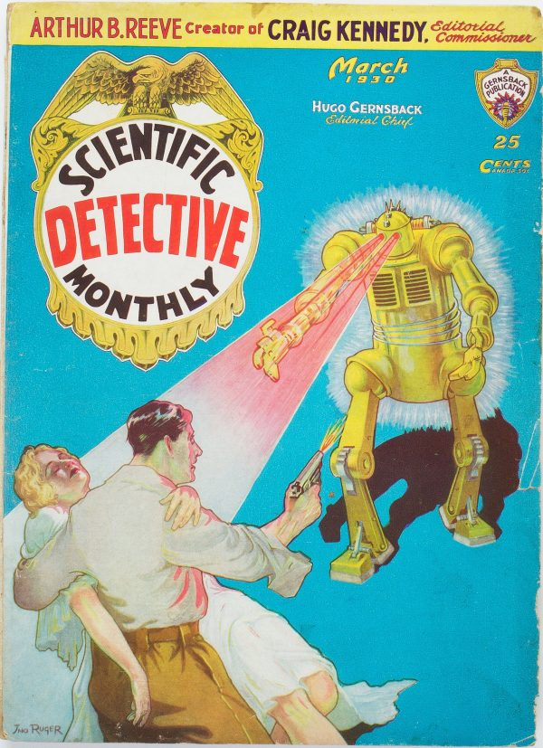 Scientific Detective Monthly - March 1930
