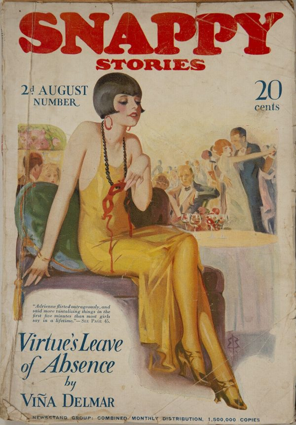 Snappy Stories August 1924