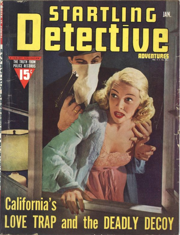 Startling Detective Adventures January 1940
