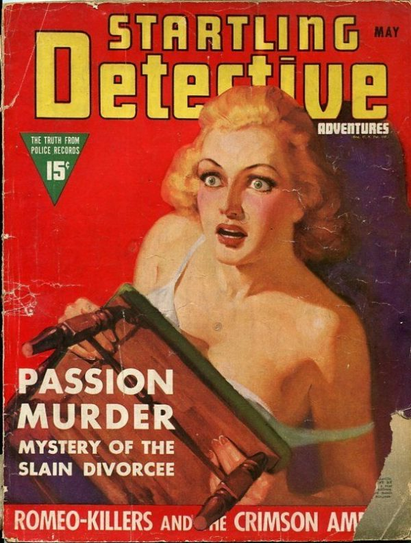 Startling Detective Adventures May 1939