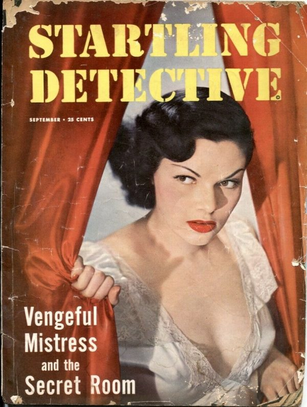 Startling Detective Magazine September 1950