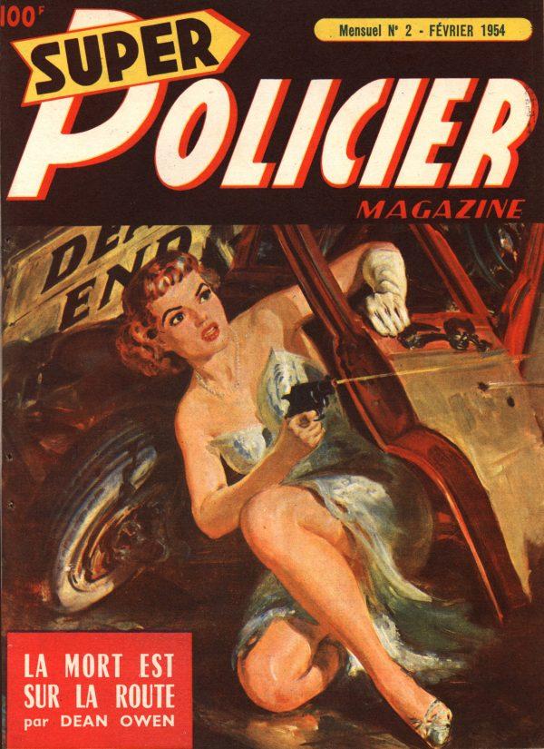Super Policier Magazine January-February 1954