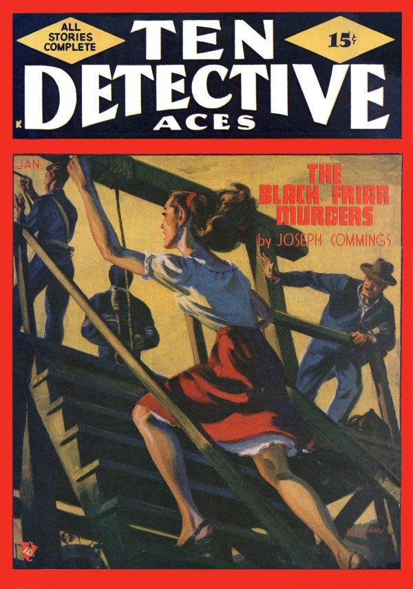 Ten Detective Aces January 1948