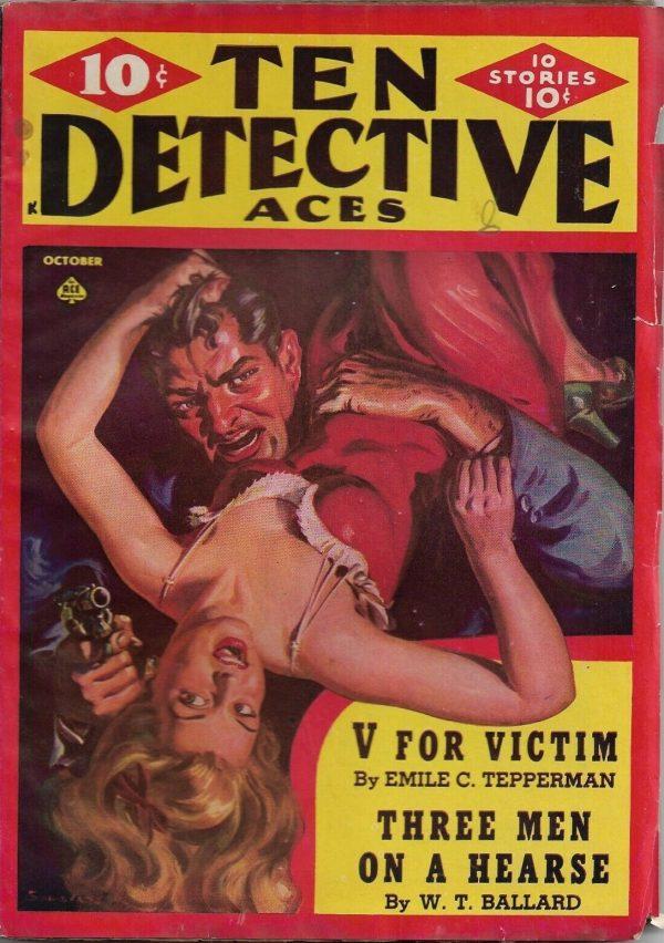 Ten Detective Aces October 1942
