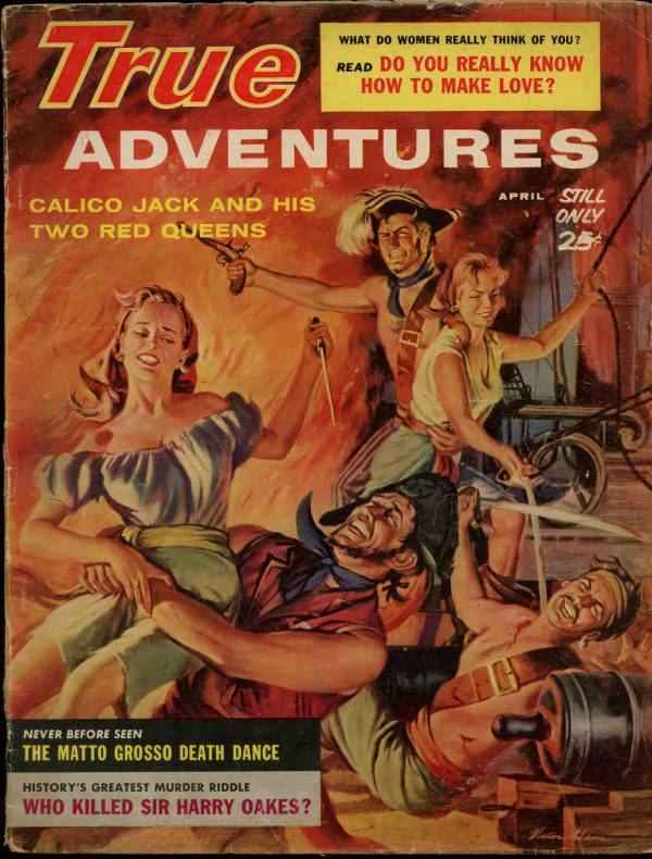 True Adventures April, 1960