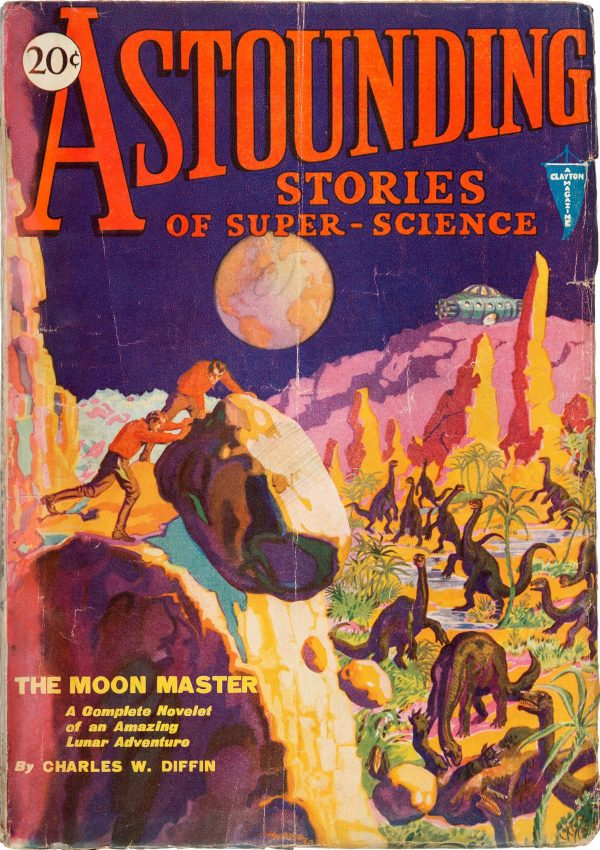 Astounding Stories of Super-Science, June 1930