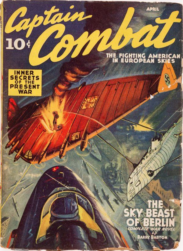 Captain Combat - April 1940