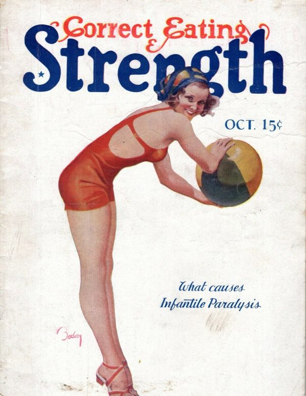 Correct Eating & Strength October 1931