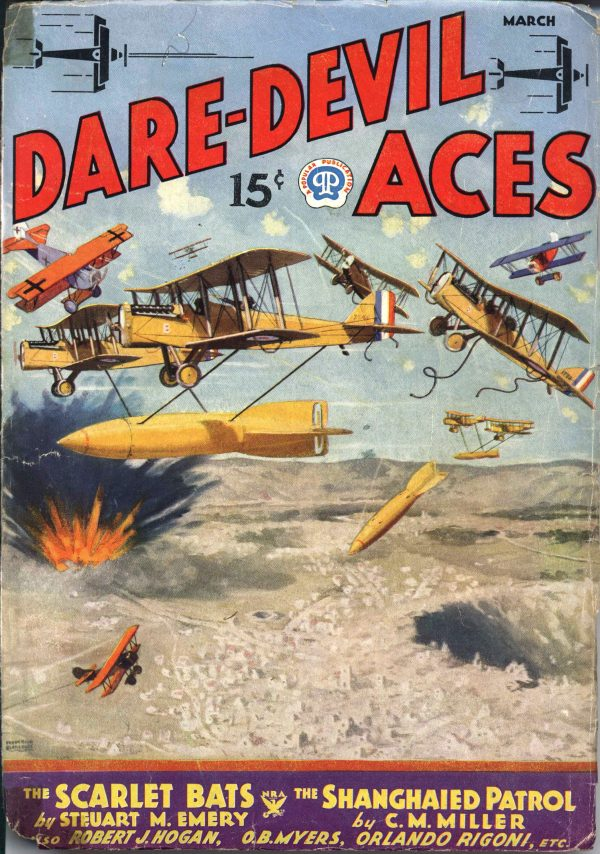 Dare-Devil Aces March 1935