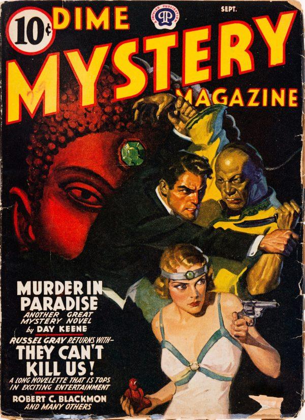 Dime Mystery Magazine - September 1941